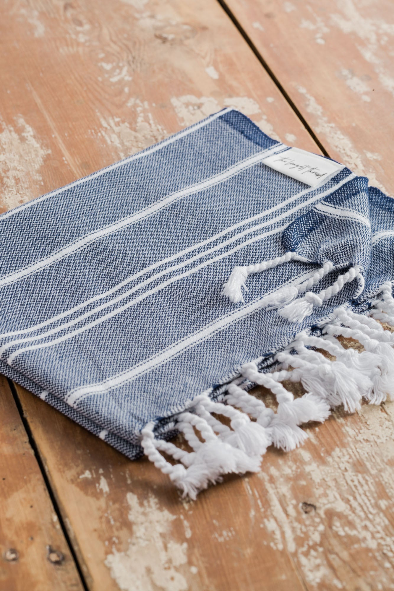 Basic XS Navy Turkish Hand Towel