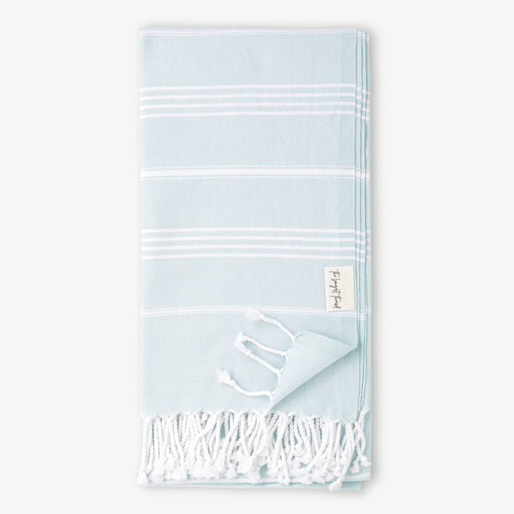 Basic Mint Turkish Towel Image 1