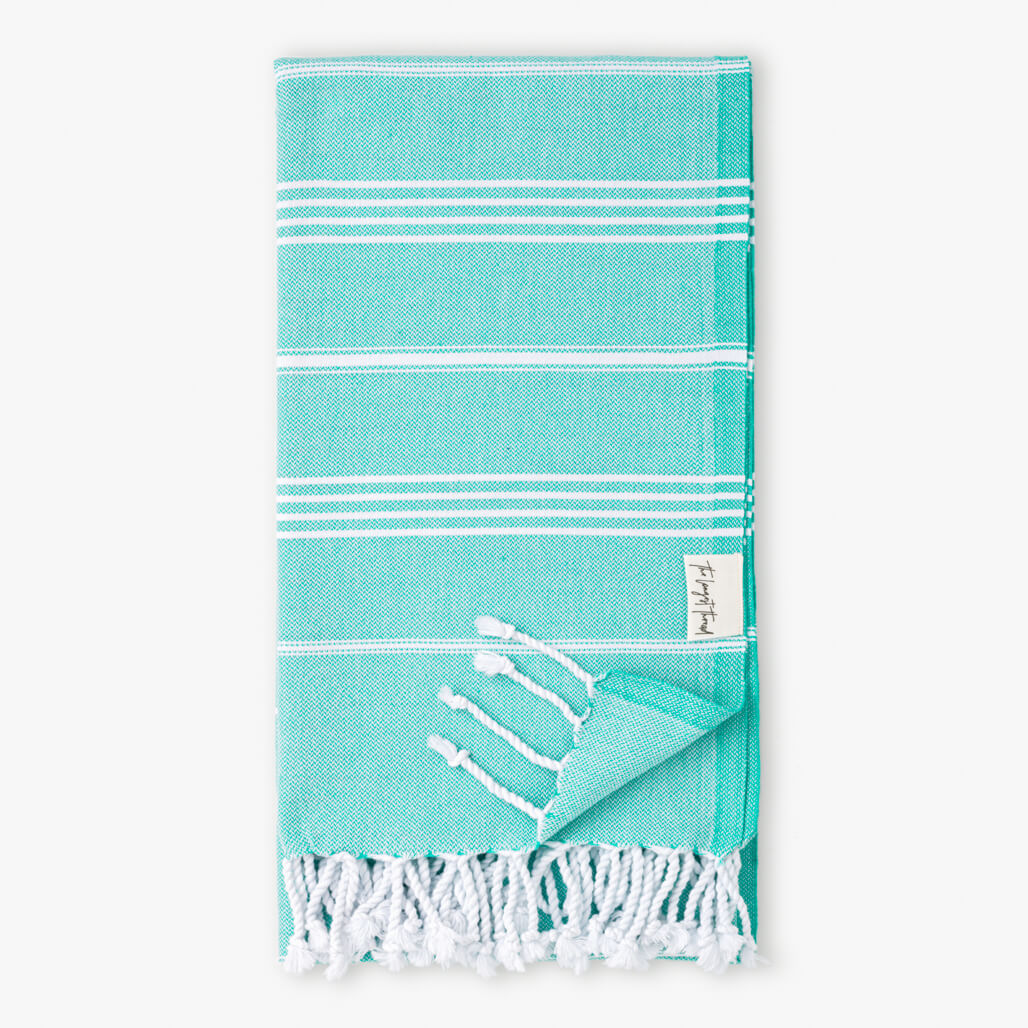 Basic Sea-foam Turkish Towel Image 1
