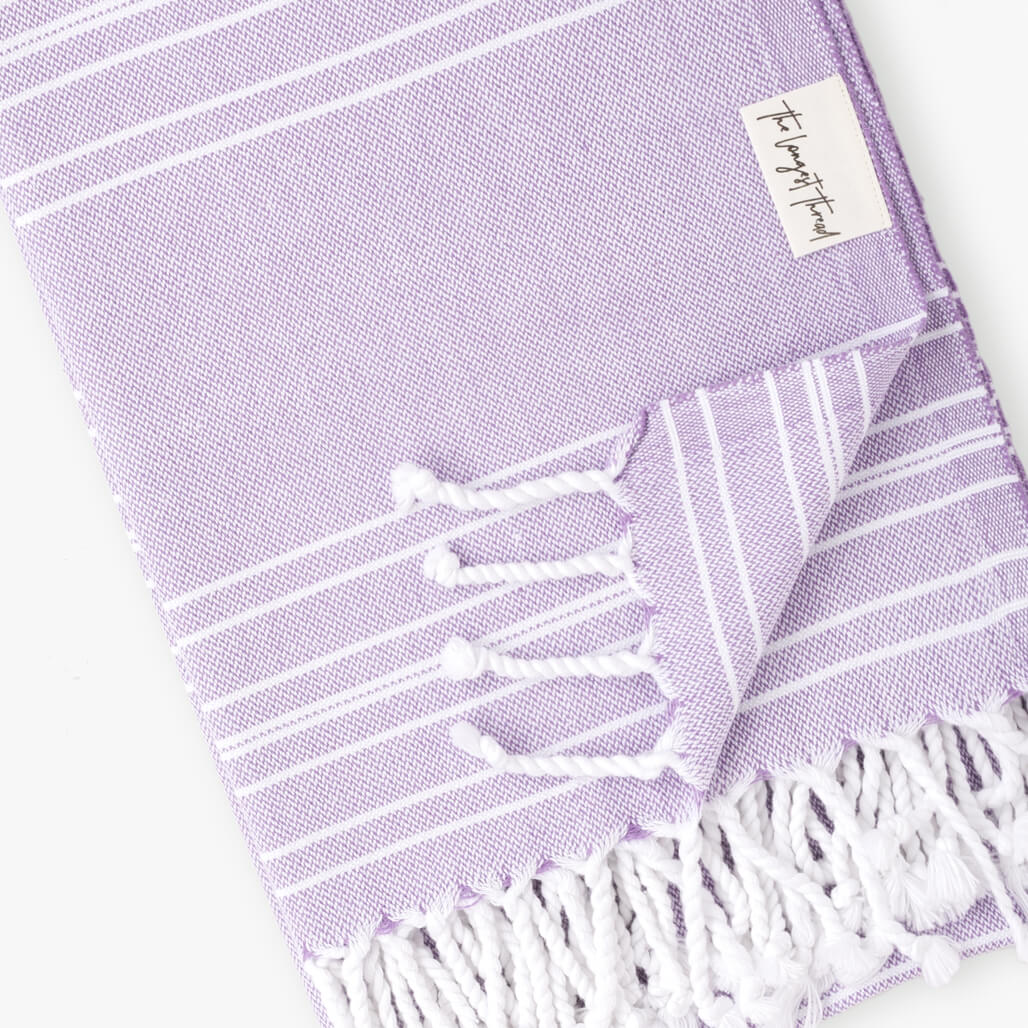 Saltwater Lavender Turkish Towel
