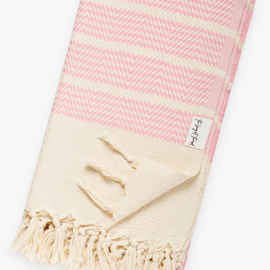 Sahara Pink Turkish Towel