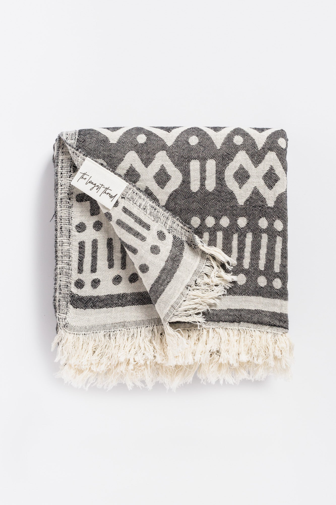Maghreb Black Turkish Towel