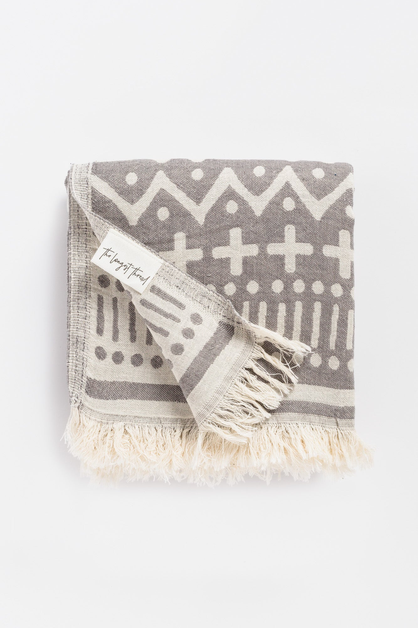 Maghreb Dark Gray Turkish Towel