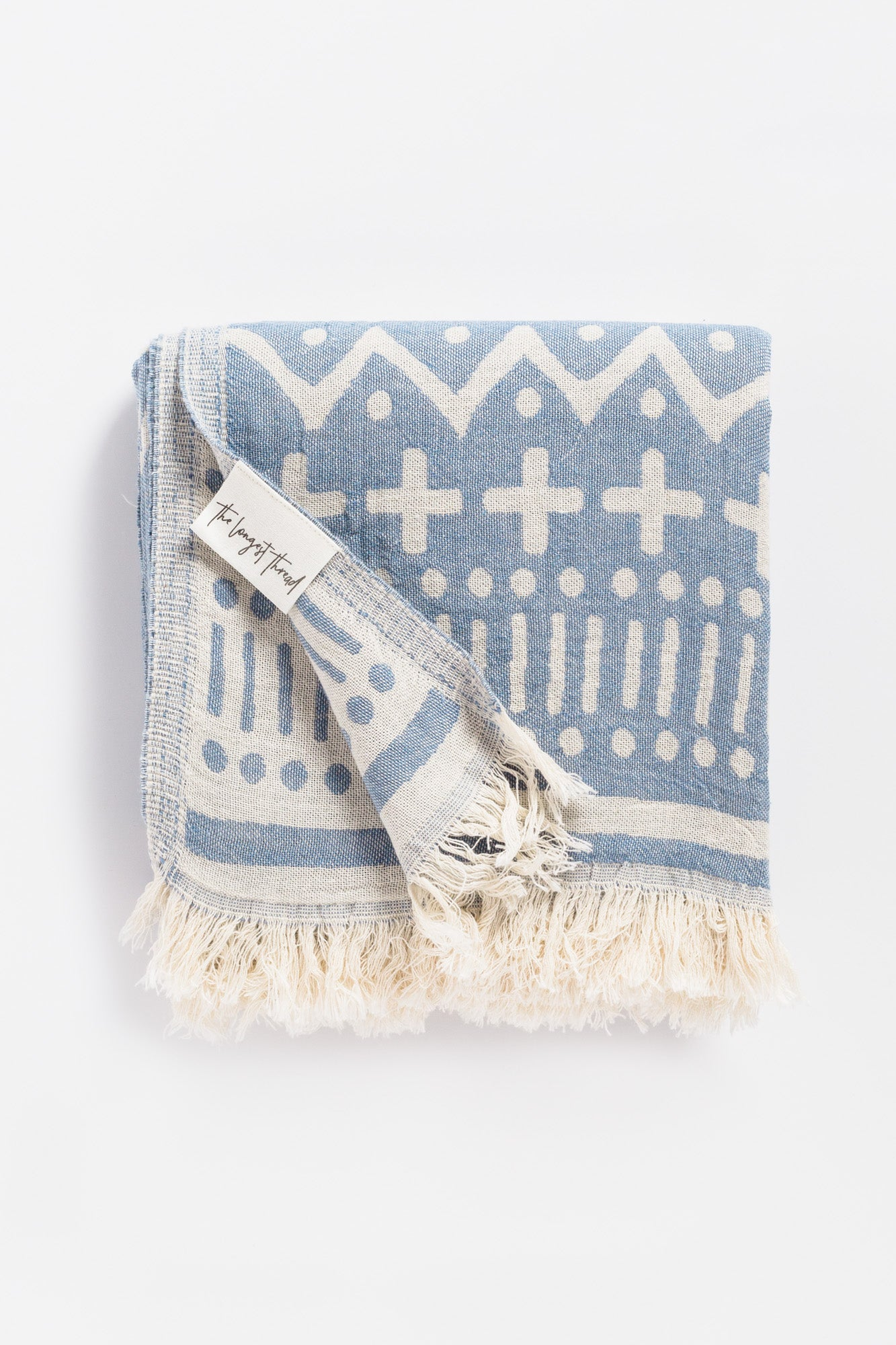 Maghreb Denim Turkish Towel