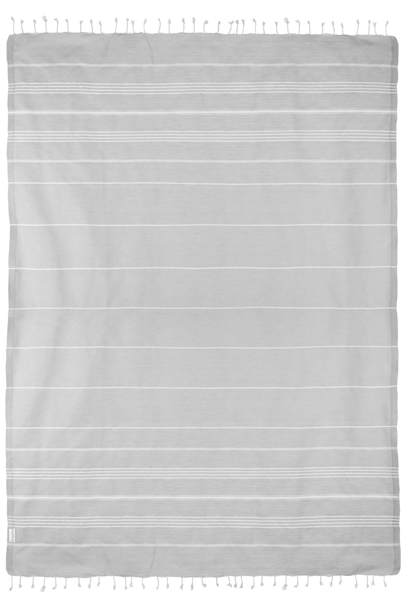 XL Basic Gray Turkish Towel
