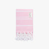 Basic XS Pink Turkish Hand Towel