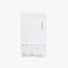 Basic XS White Turkish Hand Towel