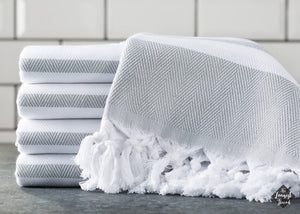 Spa Gray Turkish Towel