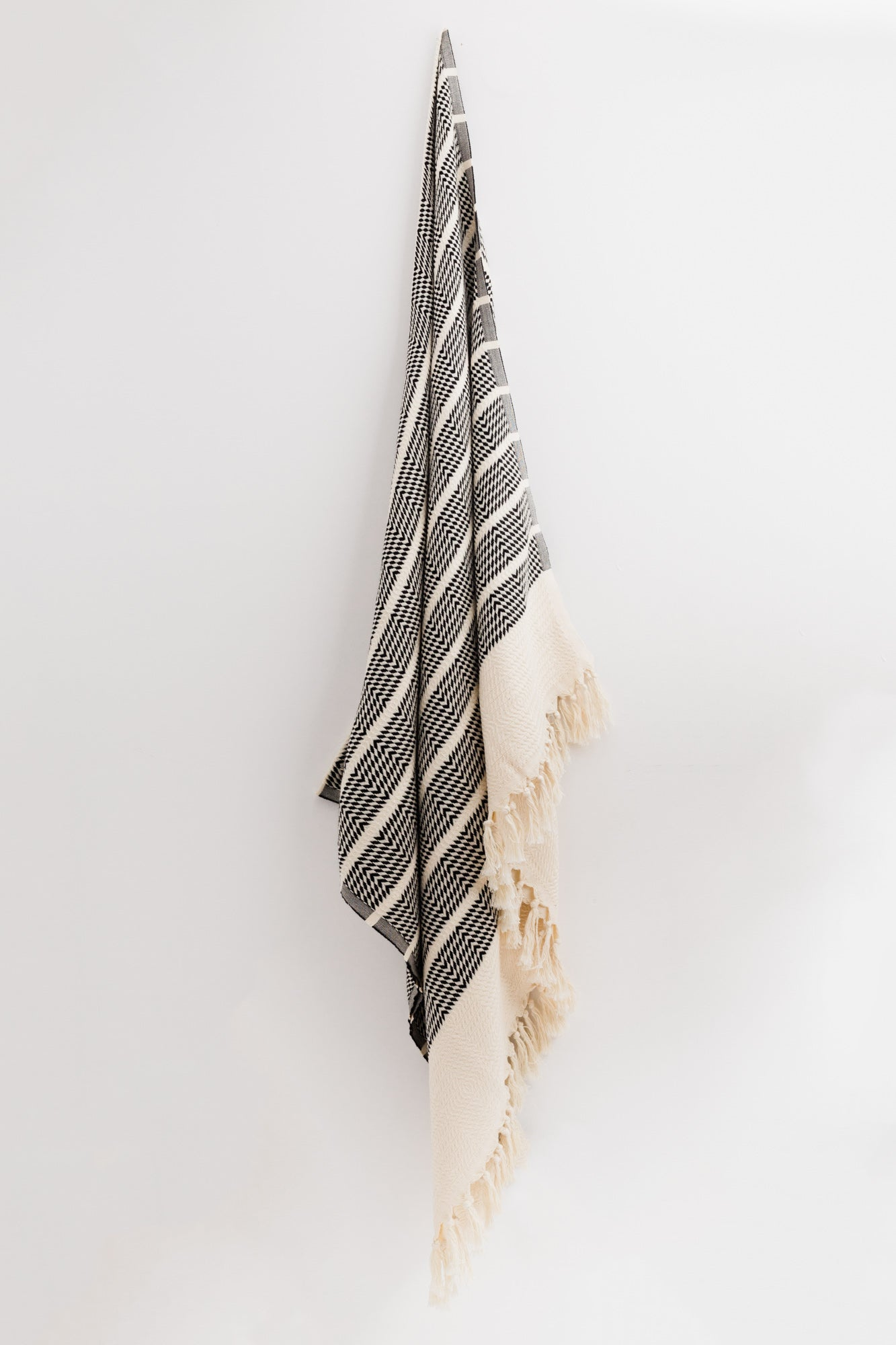 Sahara Black Turkish Towel