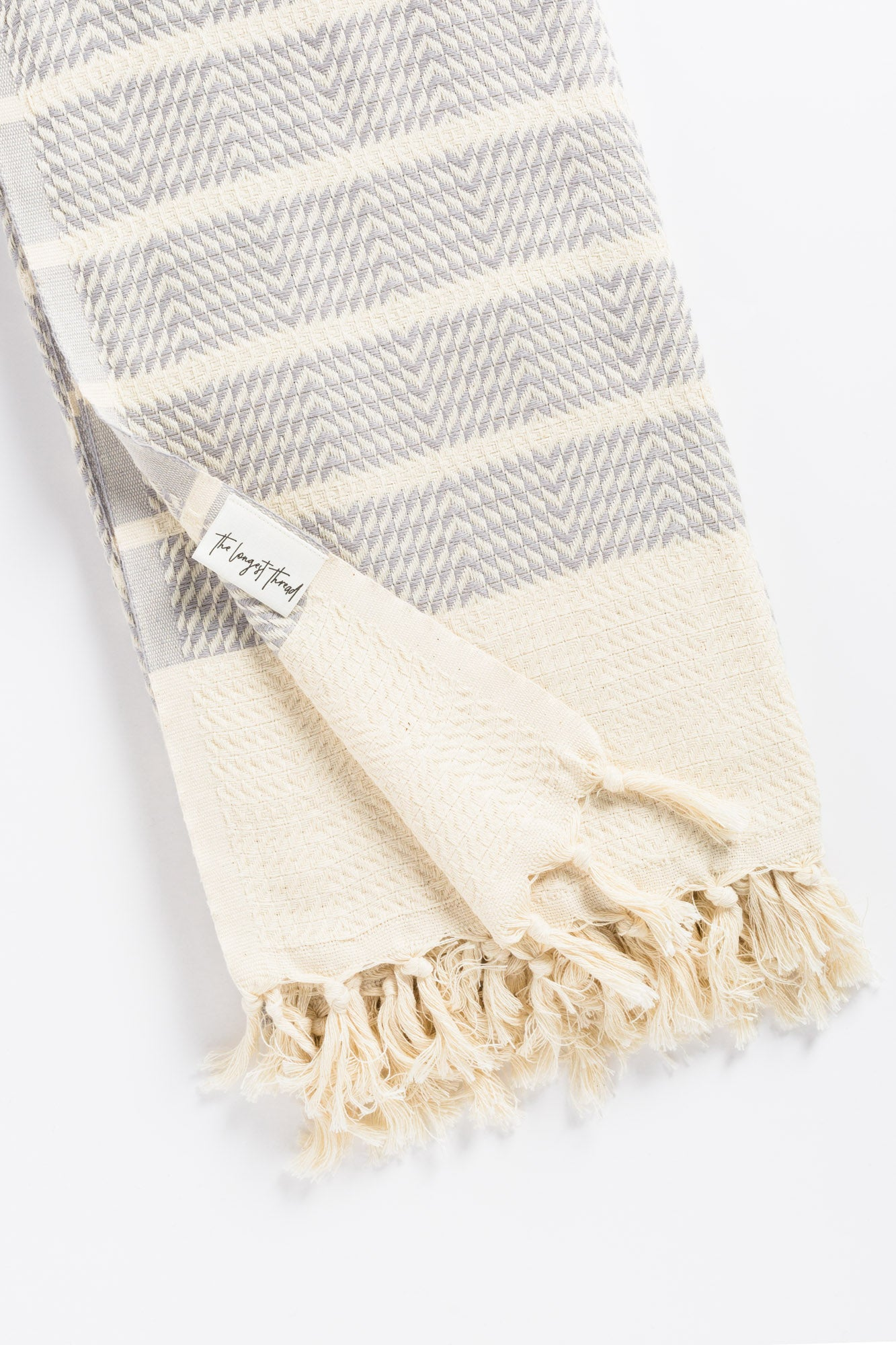 Sahara Gray Turkish Towel