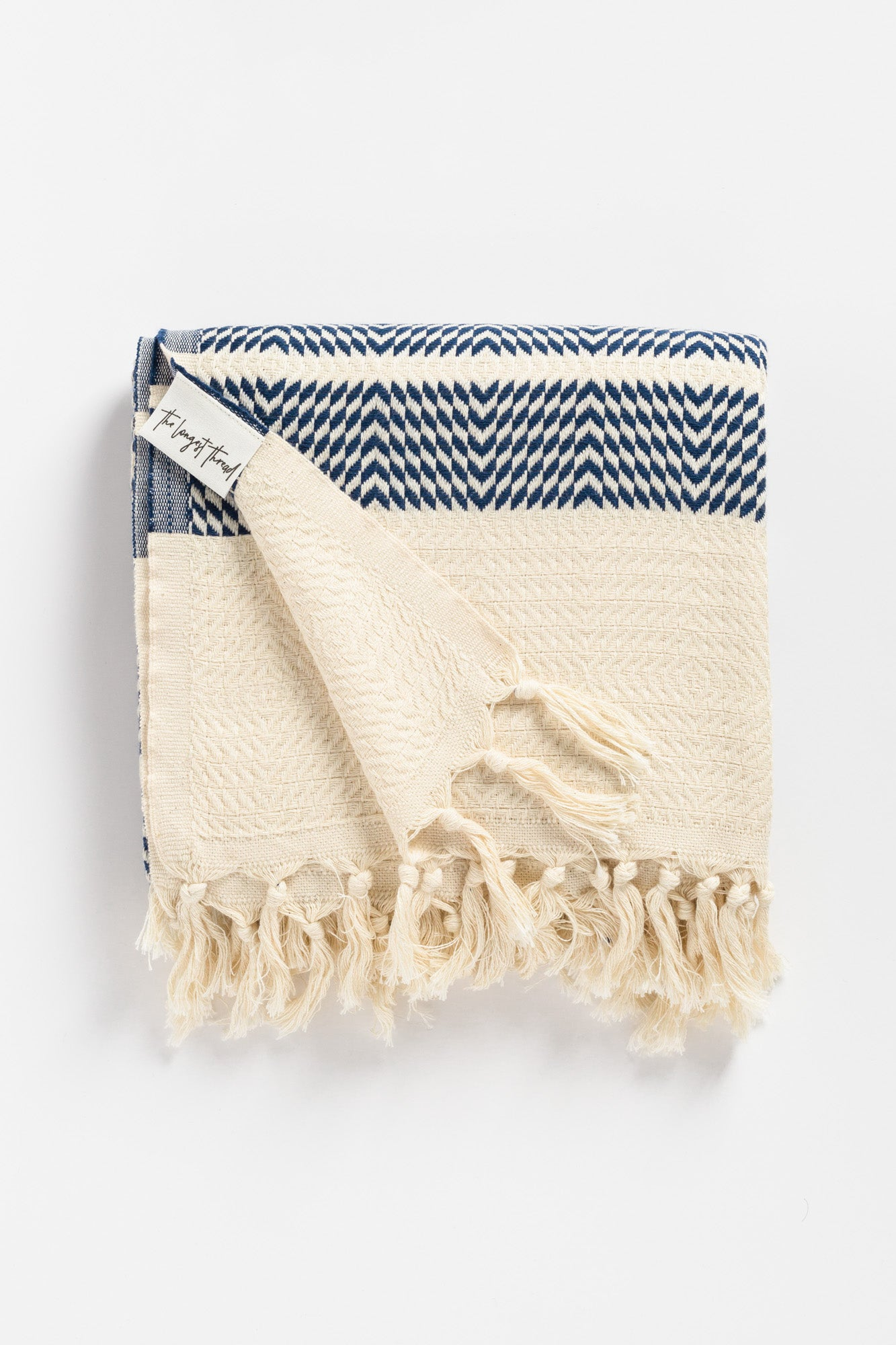 Sahara Navy Turkish Towel