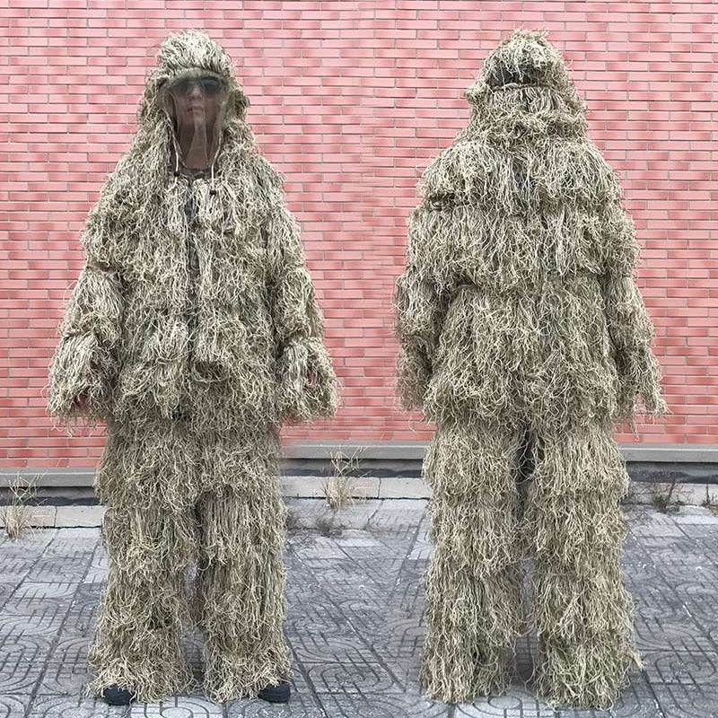 3D Withered Grass 4 PC Ghillie Suit