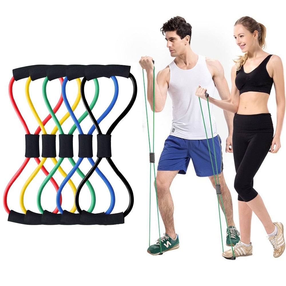 8 Word Resistance Bands