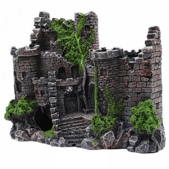 Castle Decoration Aquarium