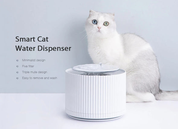 Smart Cat Drinking Fountain