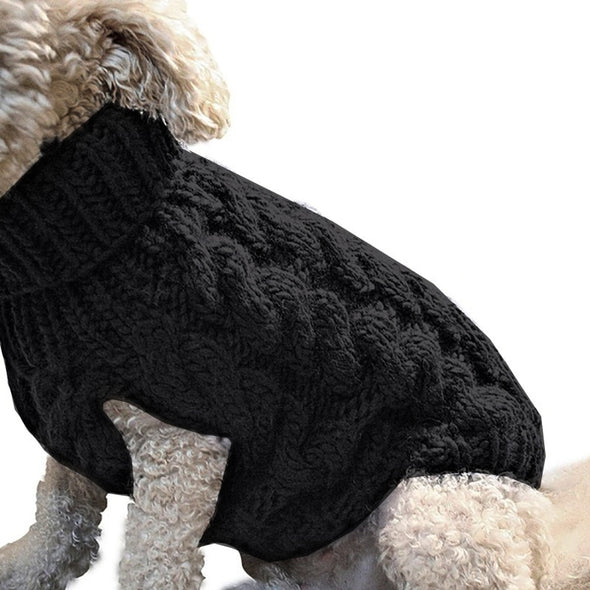 Dog Knitted Winter Sweater