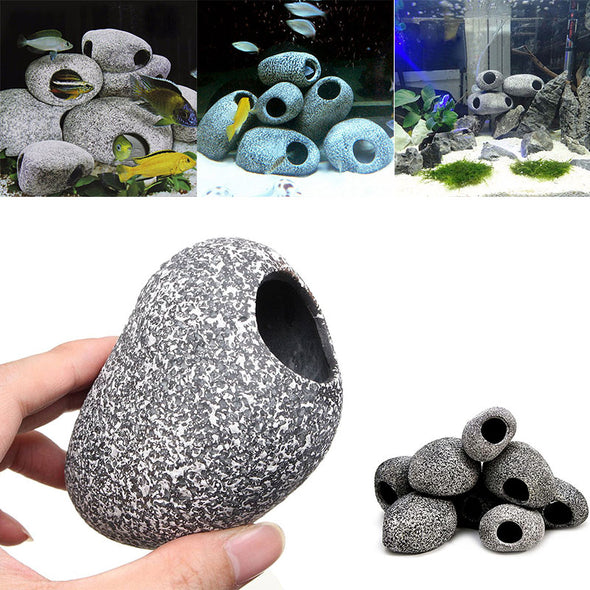 Aquarium Cichlid Stone Decoration