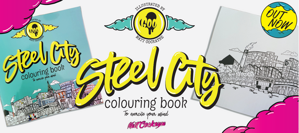Steel City Colouring Book