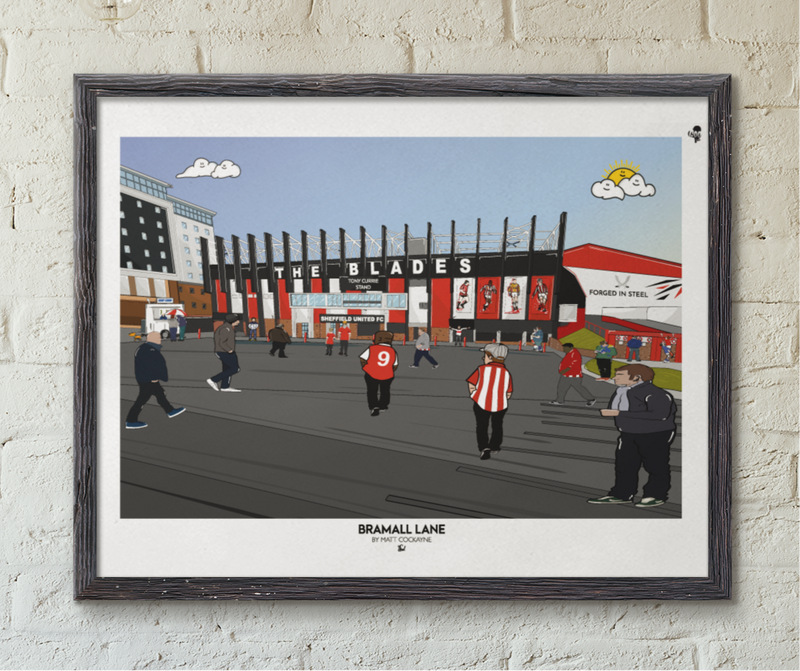 SUFC: Bramall Lane Match Day