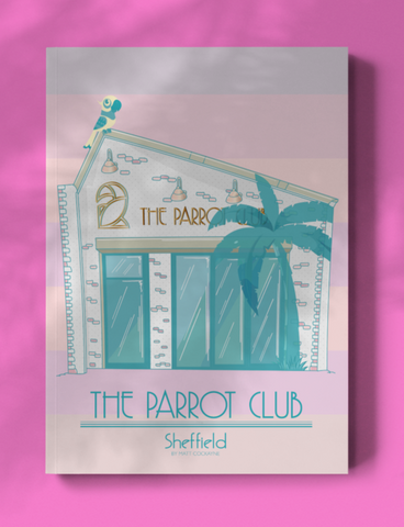 Parrot Club Canvas