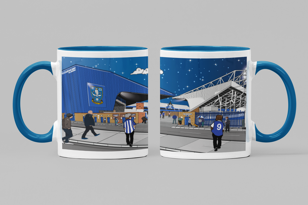 Hillsborough Match Day Mug