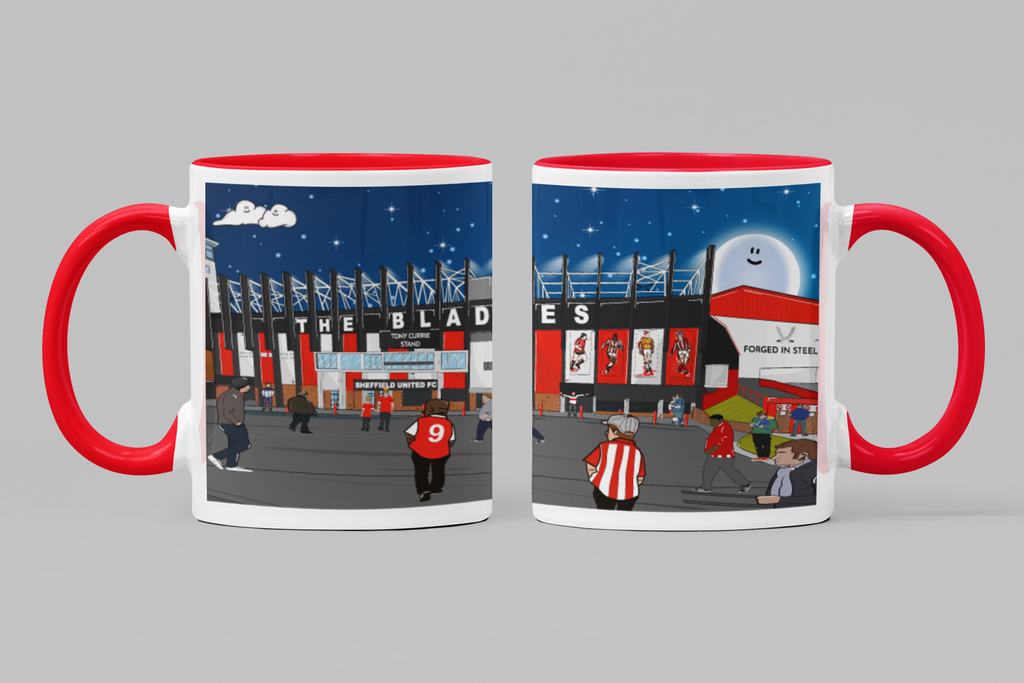 Bramall Lane Match Day Mug