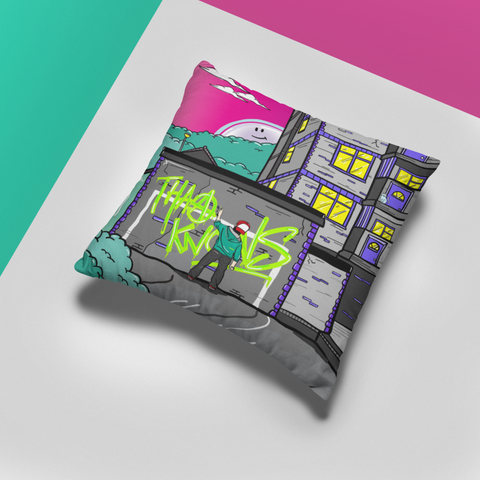 Graffiti Kid - Cushion