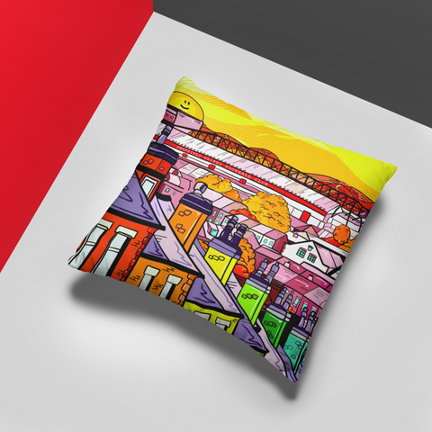 Downtown Bramall Lane - Cushion