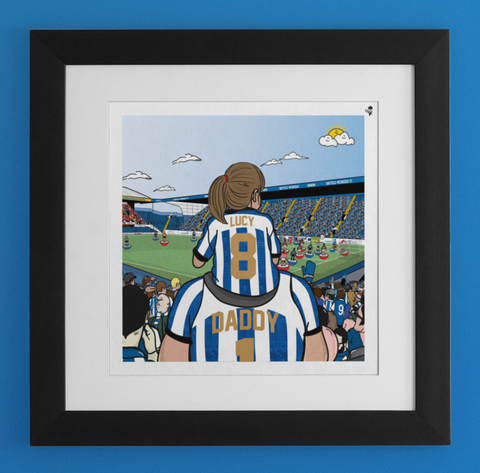 PERSONALISED: SWFC Dad & Lass match Day