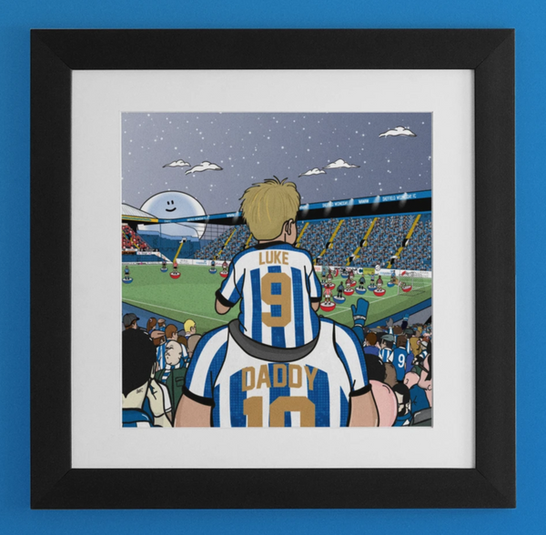 PERSONALISED: SWFC Dad & Lad Match day