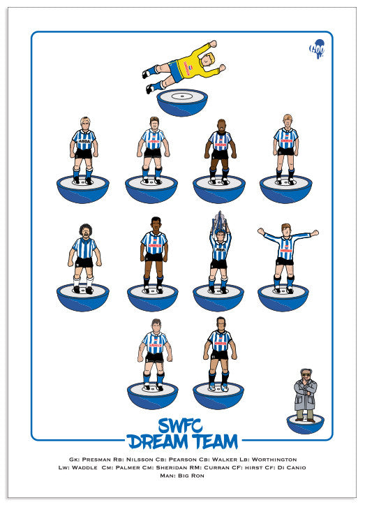 SWFC Subbuteo Dream Team