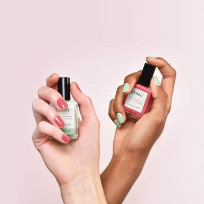 Mint et Bois de Rose : le duo pastel so British