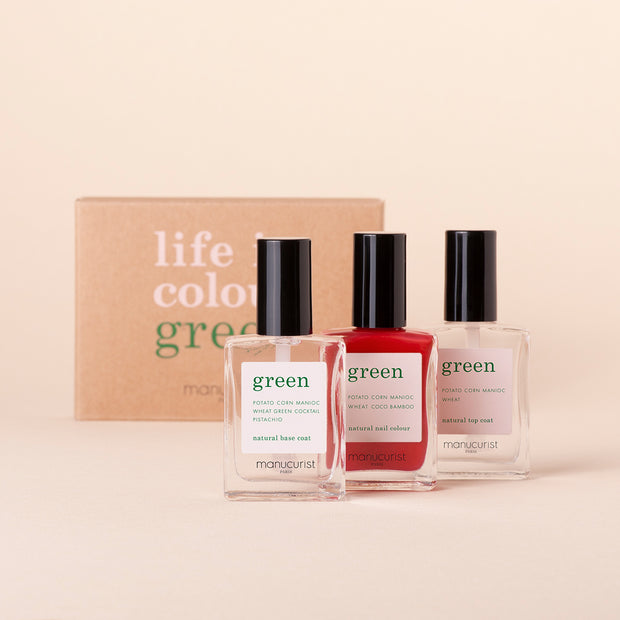 Coffret Three Steps - Poppy Red