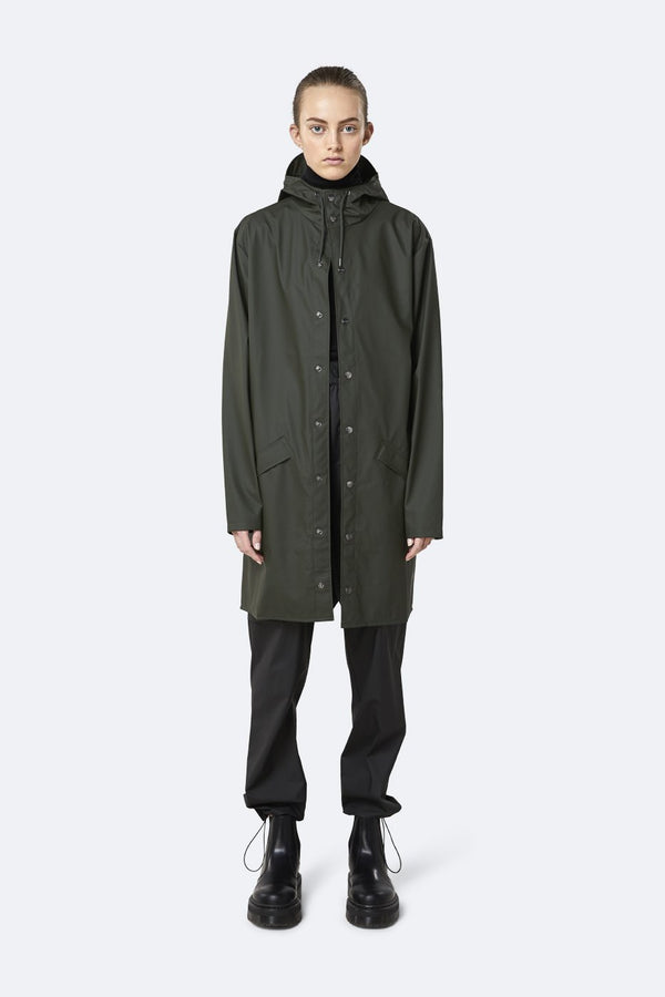 Rains | Rains Long Jacket - Presence Womens Clothing Store Hamilton