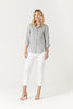 Cable | Linen Summer Shirt - Presence Womens Clothing Store Hamilton