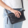Juju & Co | Perforated Shoulder Bag - Presence Womens Clothing Store Hamilton