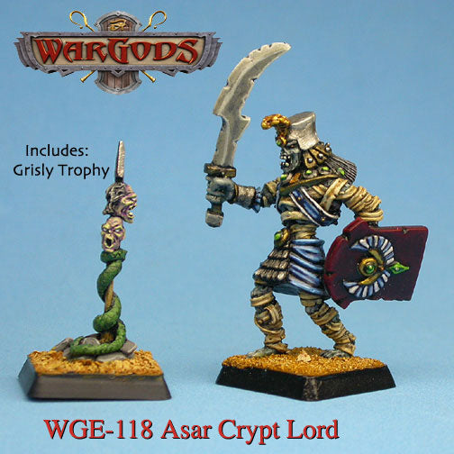 WGE-118 - Eater of the Dead - Asar Crypt Lord with grisly trophy
