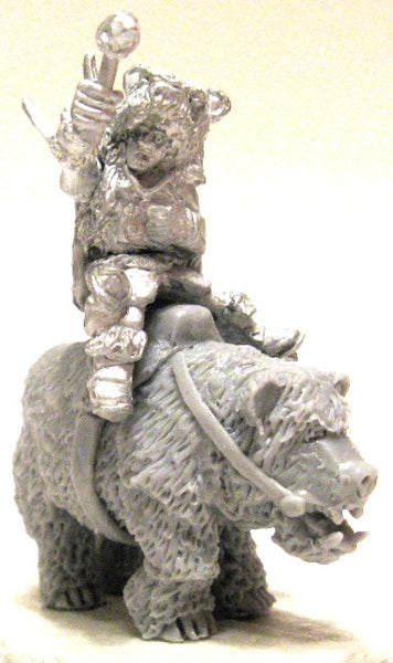 LMK-07c  - Beorn-kin Chieftain (riding Bear)