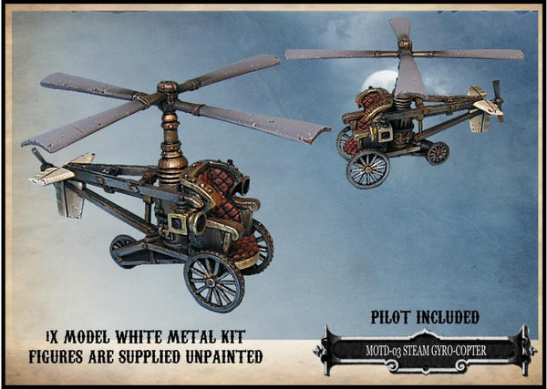 MOTD-03 - Steam Gyrocopter