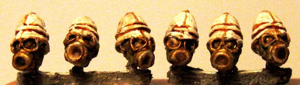 TW-10f - Gas Mask Heads 2