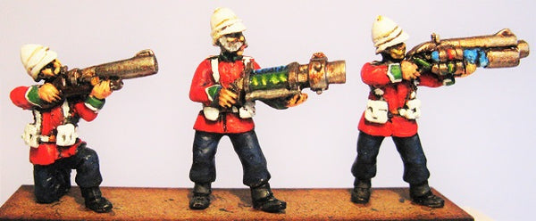 TW-27 - British Infantry Firing Line with Aether Weapons