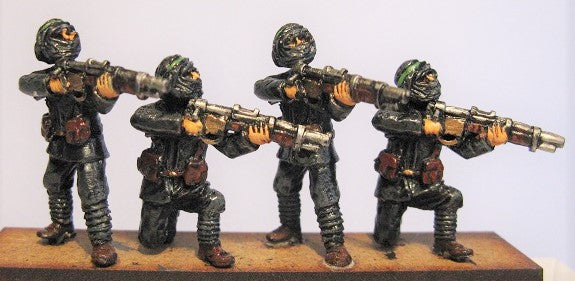TW-31 - New Caliphate Guardsmen Firing Line with Bolt Action Rifles