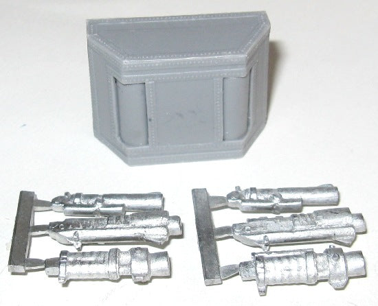 TW-LS04d - Double-weapon Sponson