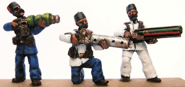 TW-30 - New Caliphate Regulars Firing Line with Aether Weapons