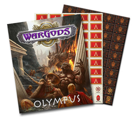 WG-03 WarGods of Olympus Regular Hardback Rulebook