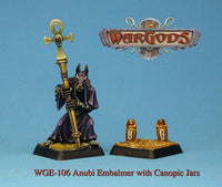 WGE-106 - Anubi — Embalmer with Canopic Jars