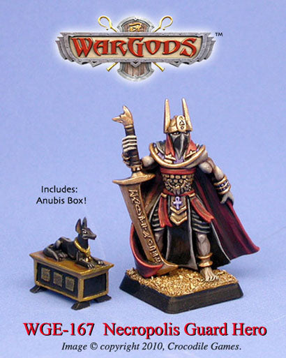 WGE-167 - Anubi — Necropolis Guard Hero with Anubis Box