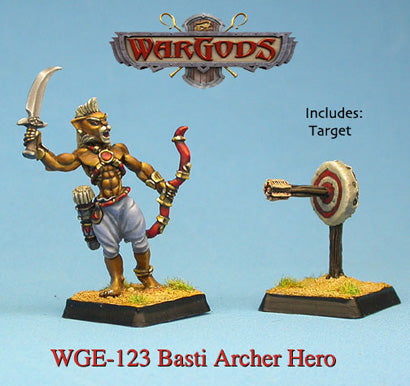 WGE-123 - Basti - Basti Archer Hero with target