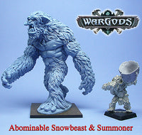 WGH-702 Hyperborea - Abominable Snowbeast and Summoner