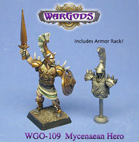 WGO-109 - Olympus - Mycenaean Hero and Armour Rack